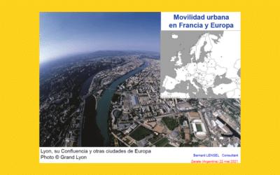 Mobilité urbaine et multimodale à Lyon et en Europe.