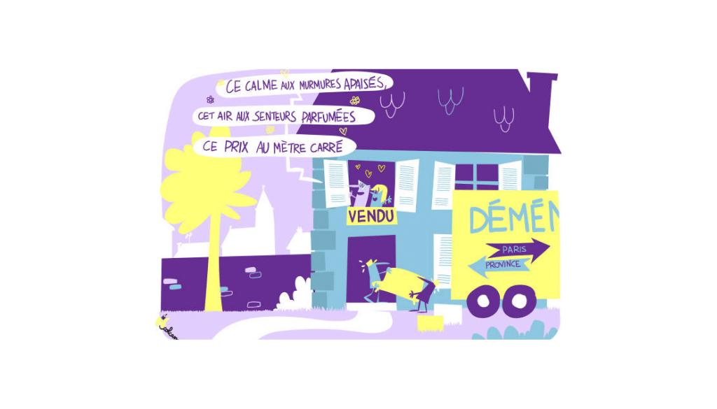 Immobilier : Le grand retour vers les petites villes